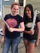 Adults cast swords